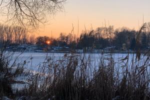 Kruszwica o zachodzie słońca - 15
