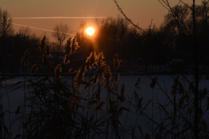 Kruszwica o zachodzie słońca - 5