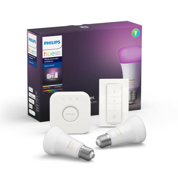 Philips Hue White and color ambiance - Starter kit E27