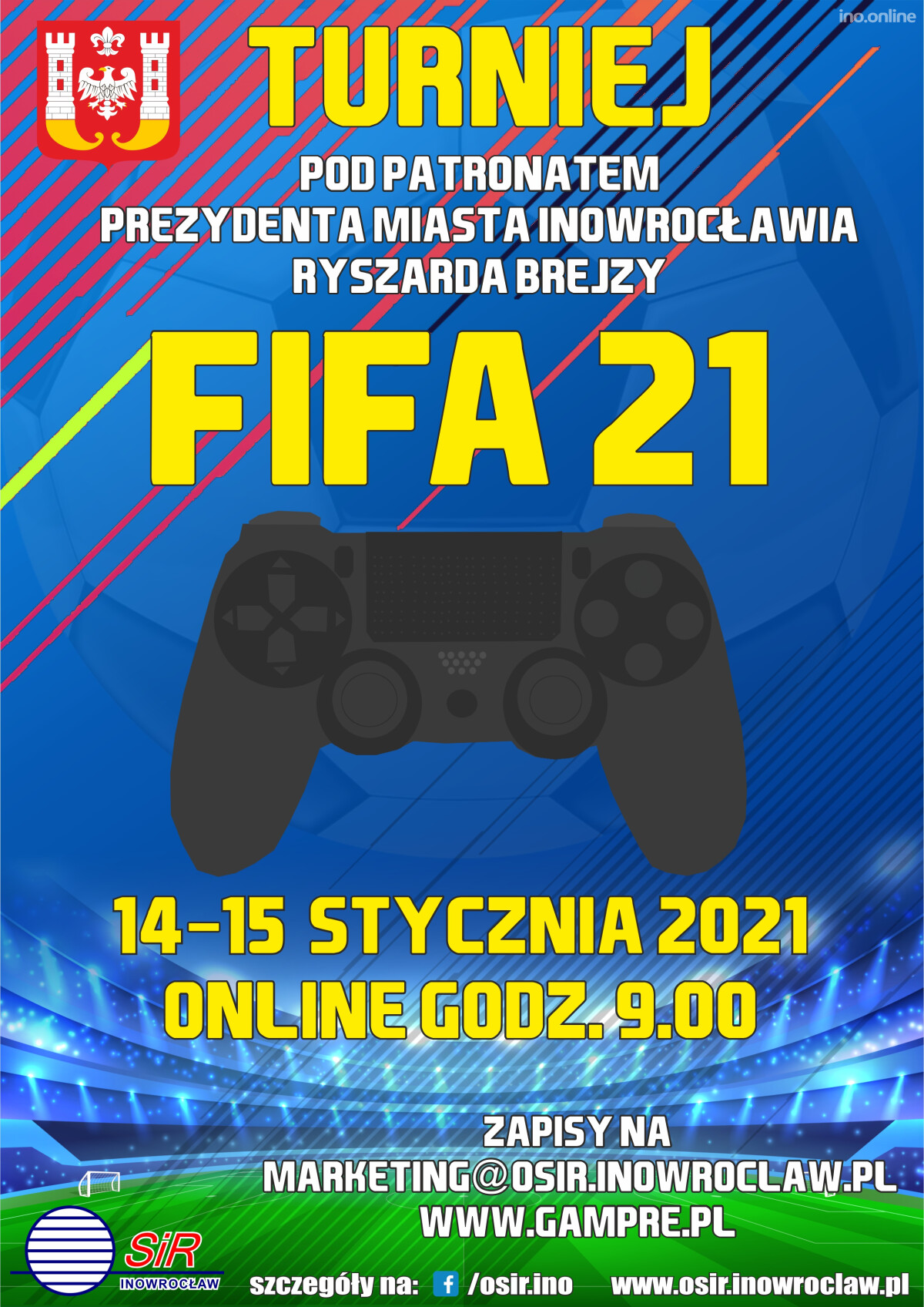 plakat turniej FifA v2