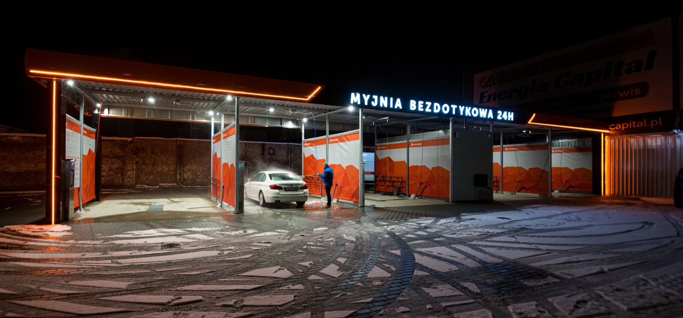 Inowrocław - Nowa myjnia w Inowrocławiu już otwarta