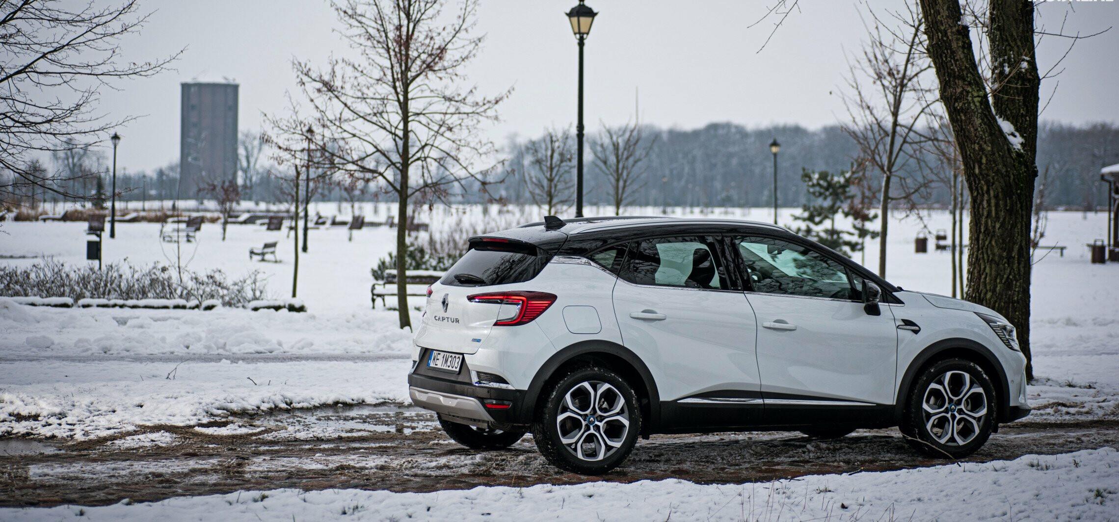Renault Captur - i na prądzie i na benzynie