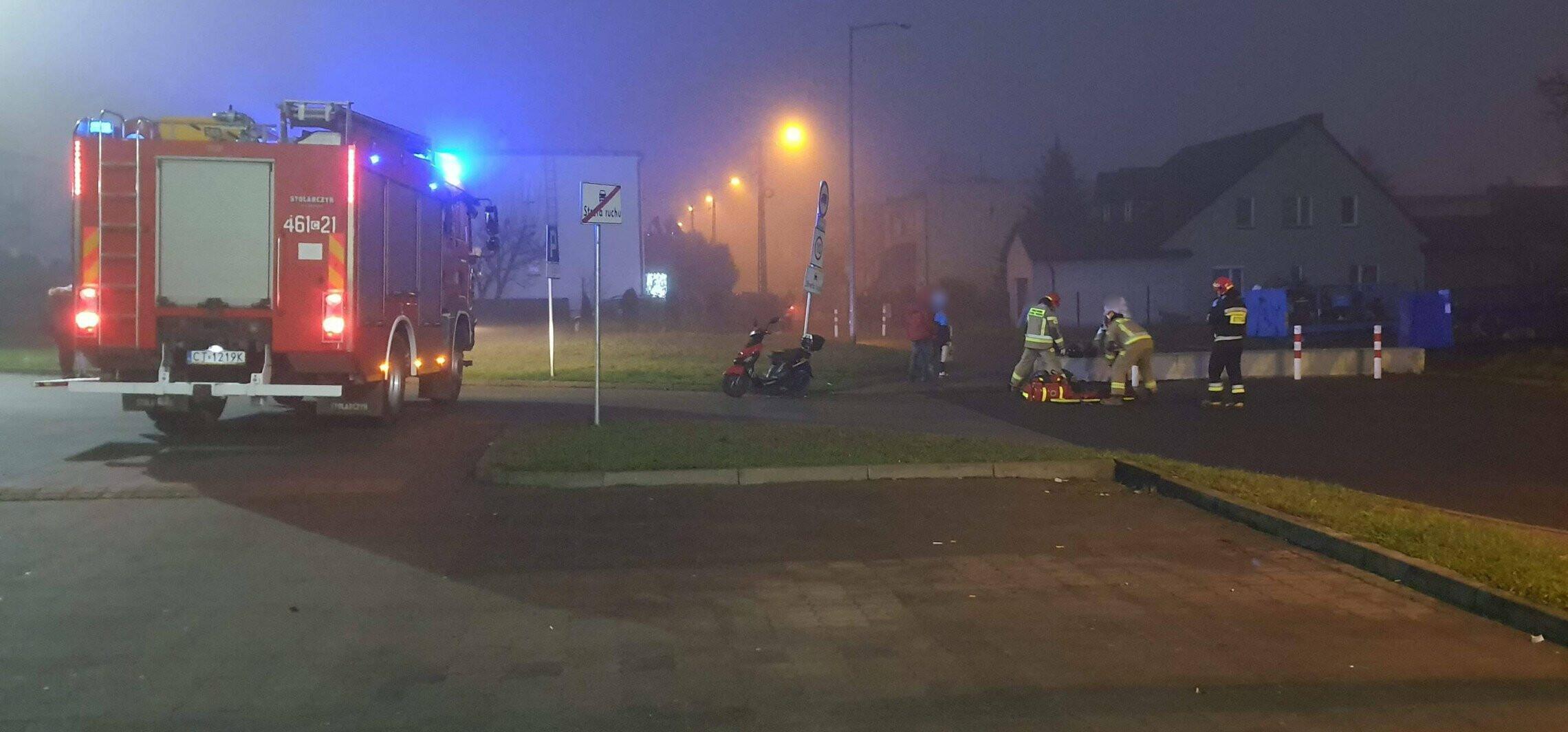 Inowrocław - Gdy brakuje karetek, na ratunek jadą strażacy