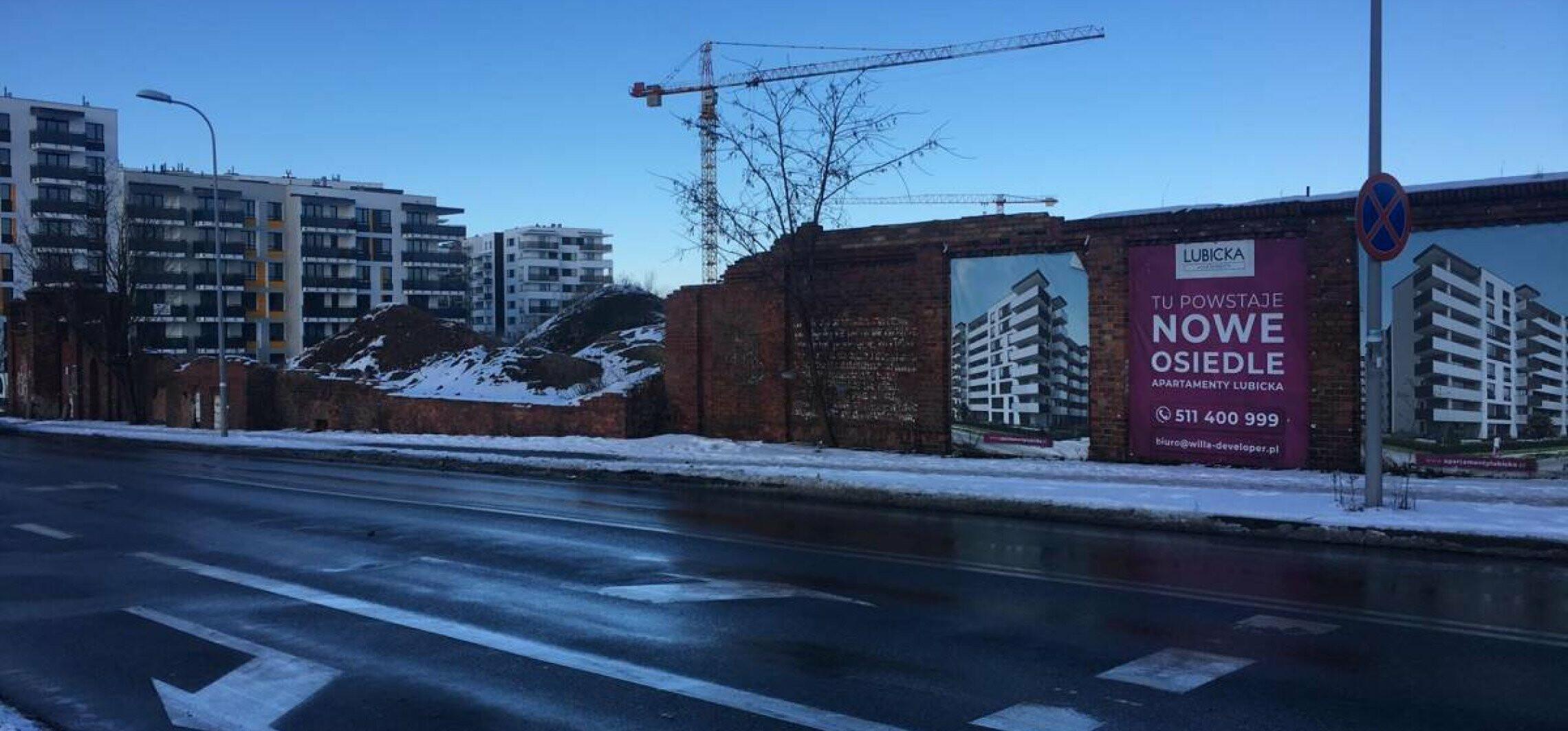 Toruń - Runęły mury Tormięsu. Zniknęły historyczne napisy