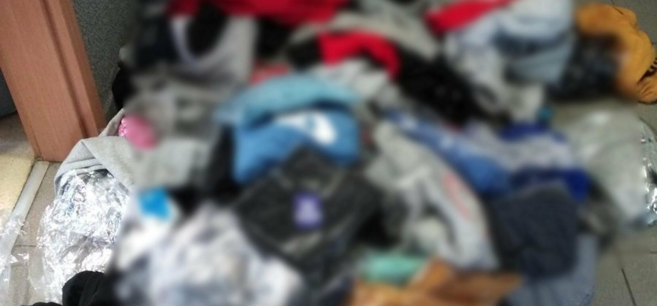 Bydgoszcz - Policja zabezpieczyła podróbki markowych ubrań