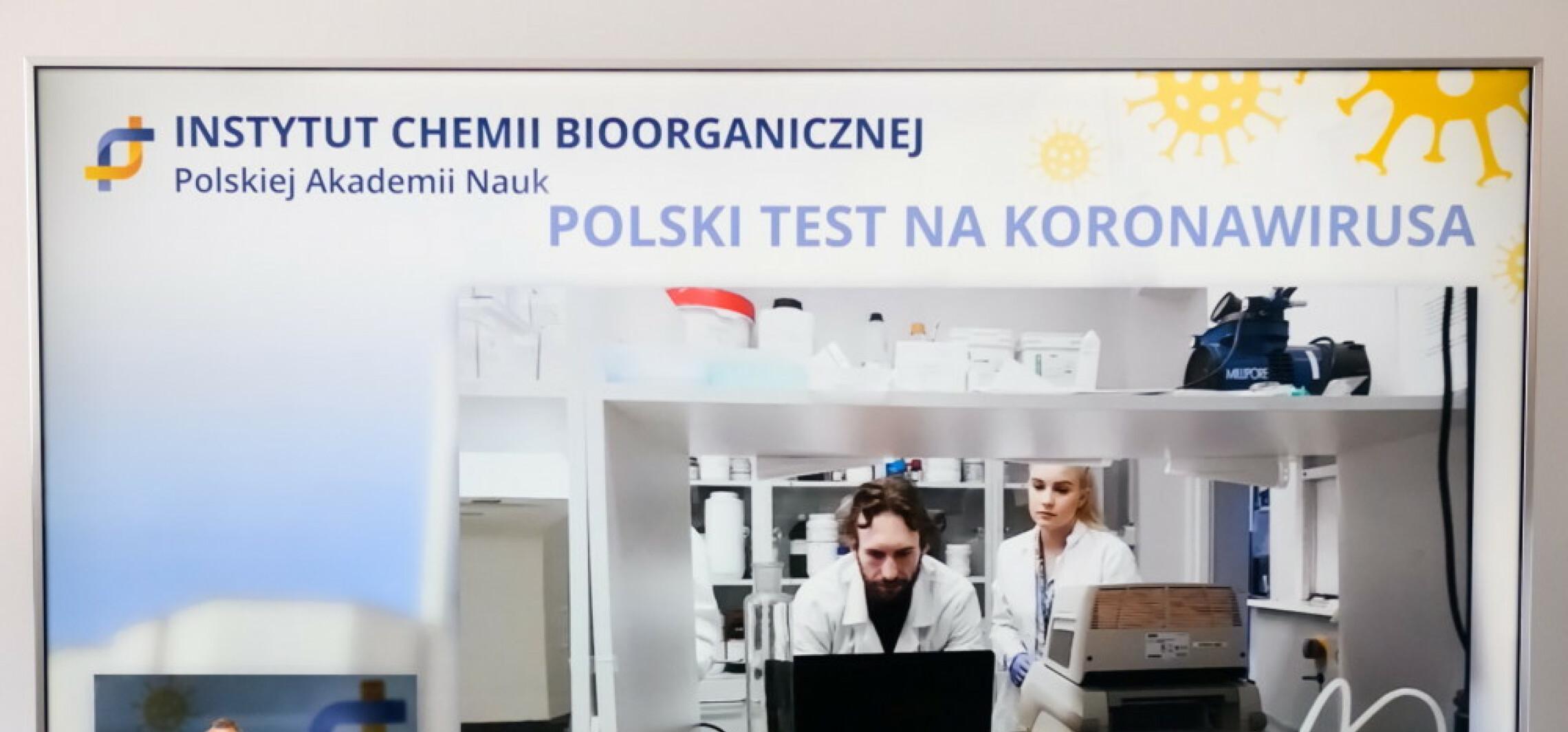 Pierwsze 10 tys. sztuk polskiego testu na SARS-CoV-2 w przyszłym tygodniu