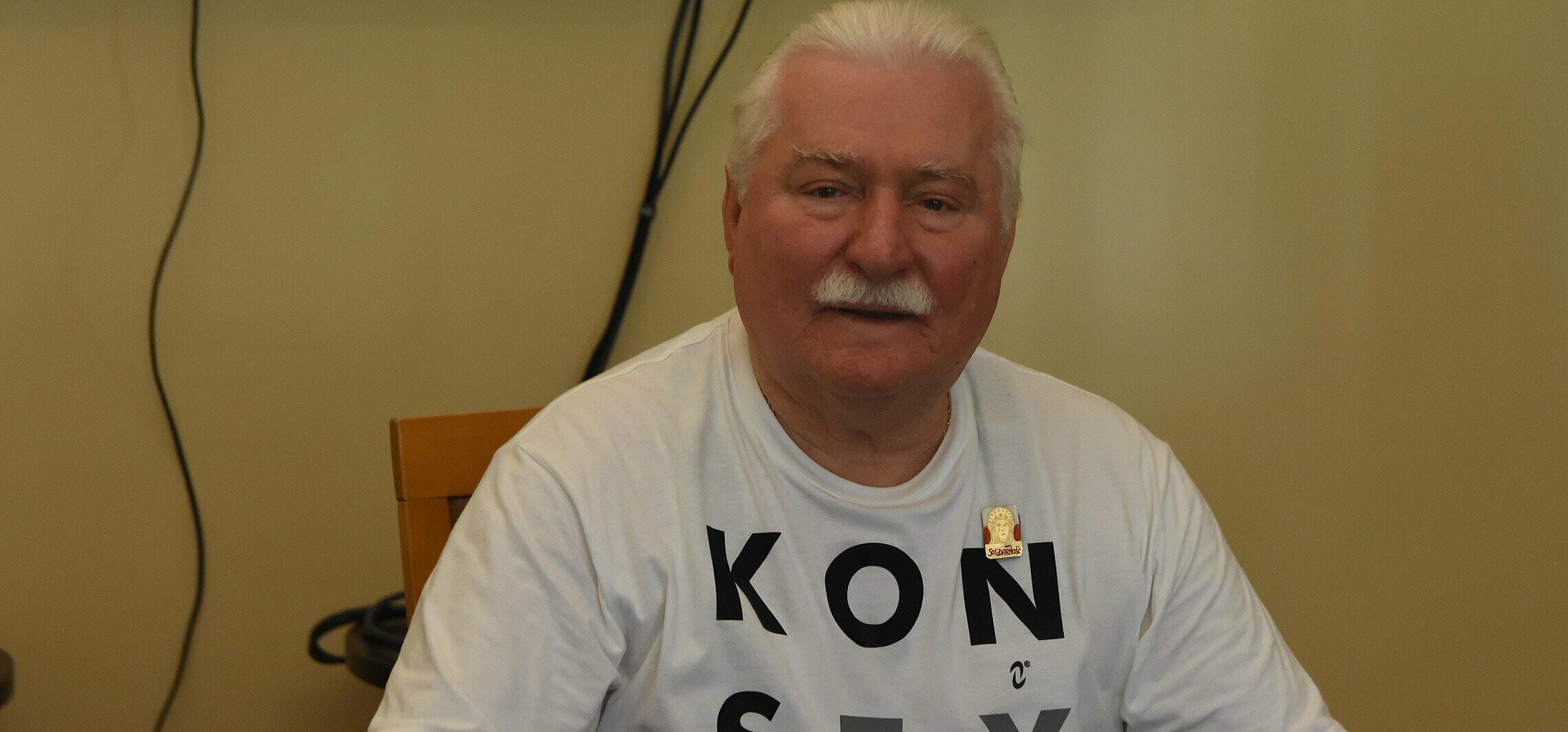 Lech Wałęsa na kuracji: poddałem się medykom