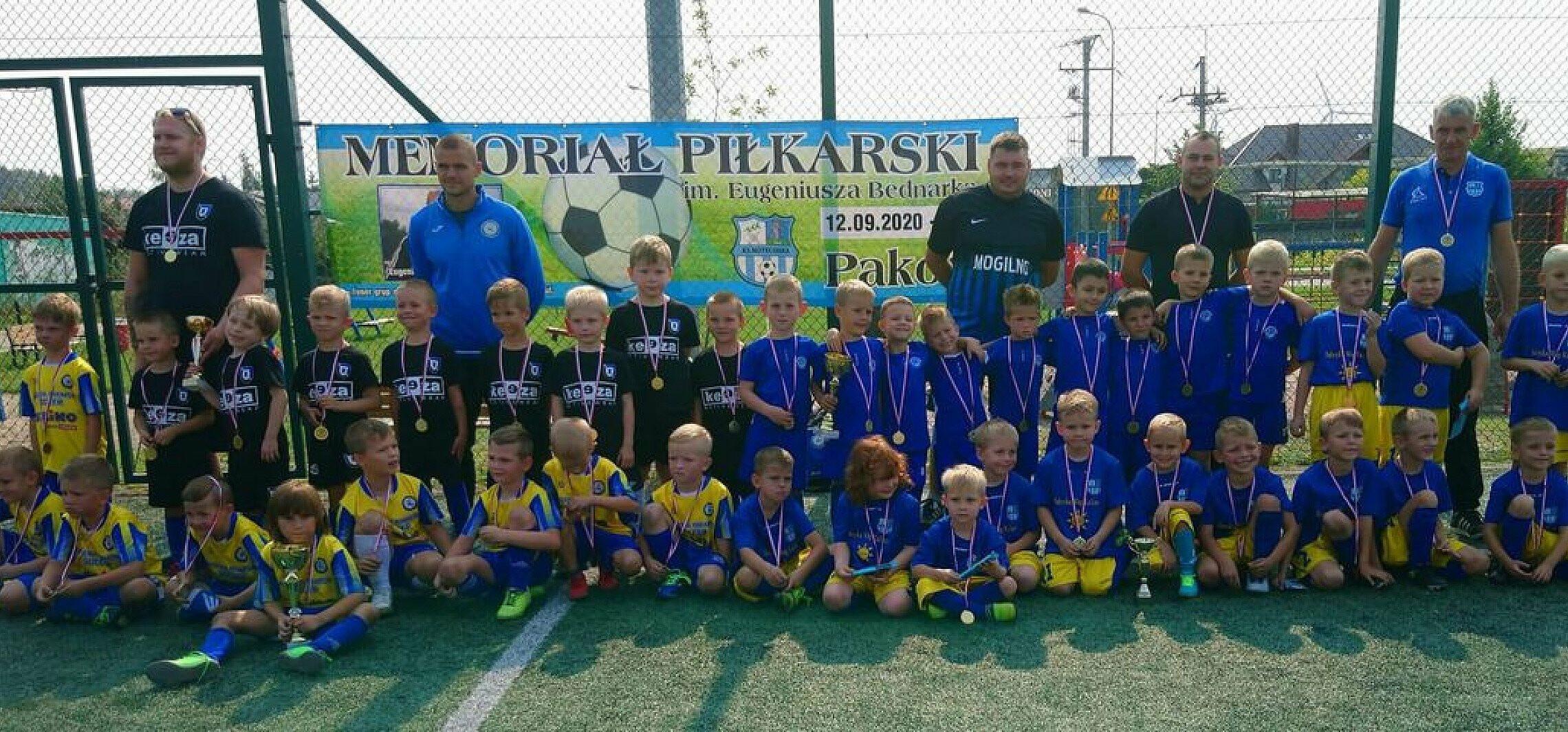 Inowrocław - To był ich pierwszy mecz w życiu