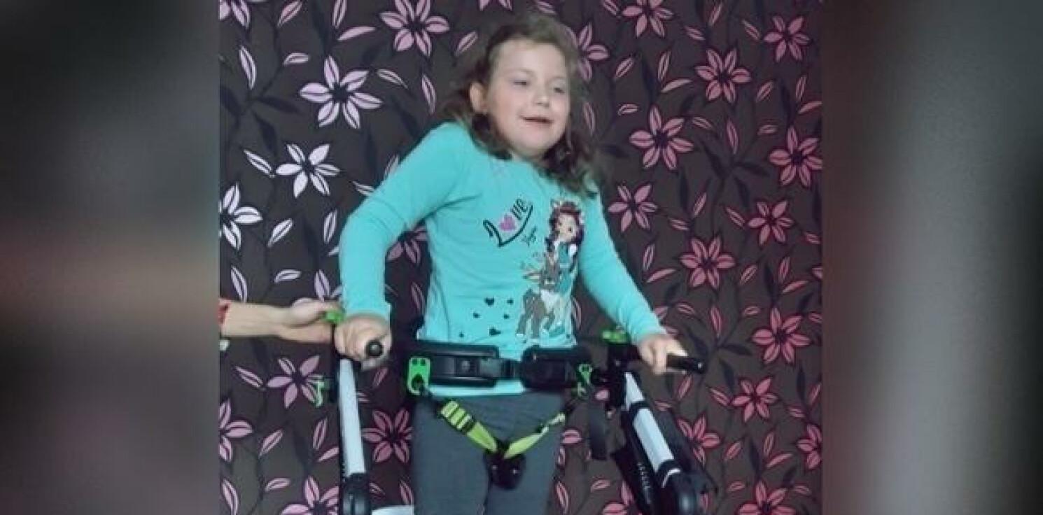 Inowrocław - 9-letnia Luiza potrzebuje pomocy. Trwa zbiórka