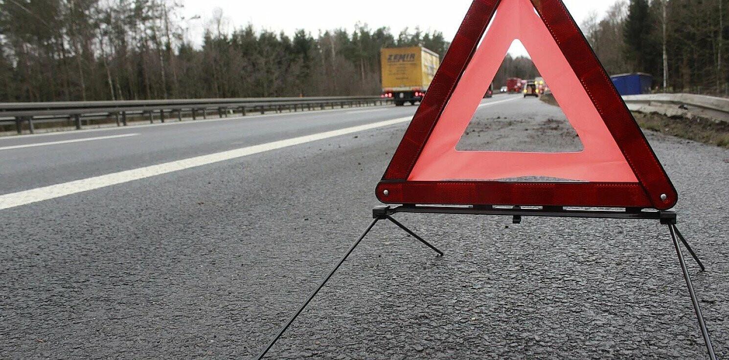 Żnin - Wypadek koło Żnina, zginął motocyklista